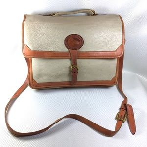 90s Dooney & Bourke All Weather Leather Briefcase